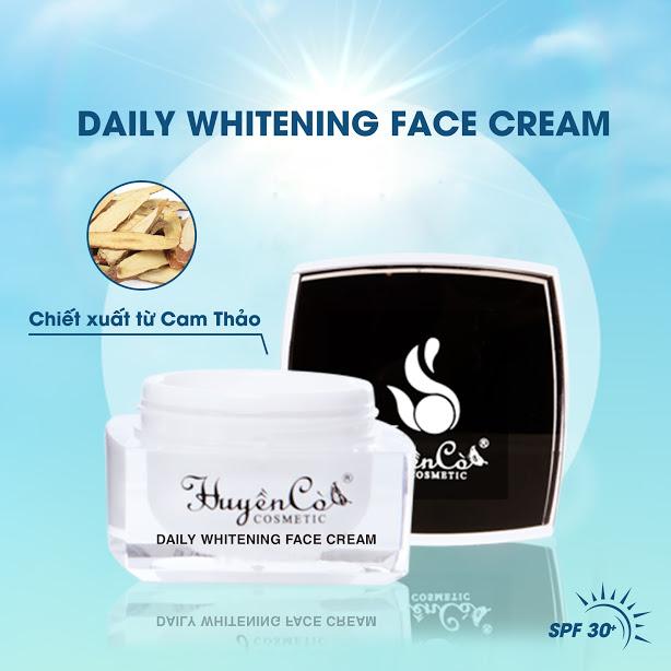 Kem Face ngày Huyền Cò - Daily Whitening Face Cream