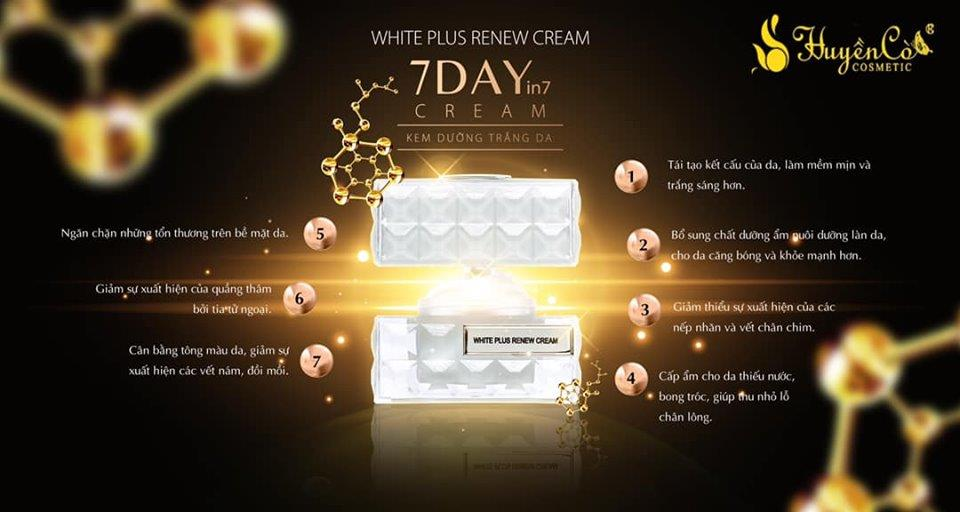 White Plus Renew Cream Huyền Cò